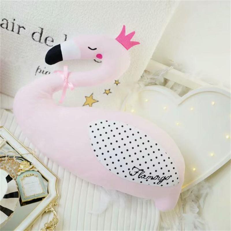 travesseiro do bebe cor rosa cisne ou acompanhar flamingo travesseiro almofada bebe dormindo boneca decoracao do