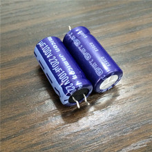 50pcs 220uF 100V JAMICON WG Series 12.5x26mm Low ESR Long Life 100V220uF Aluminum Electrolytic Capacitor