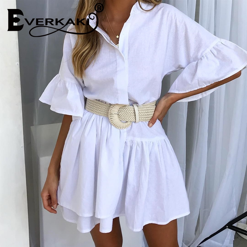 Everkaki Braided Belt With Buckle Ladies Casual Solid Luxury Fashion 2019 Dress Summer High Quality Woven Women Straw Belt