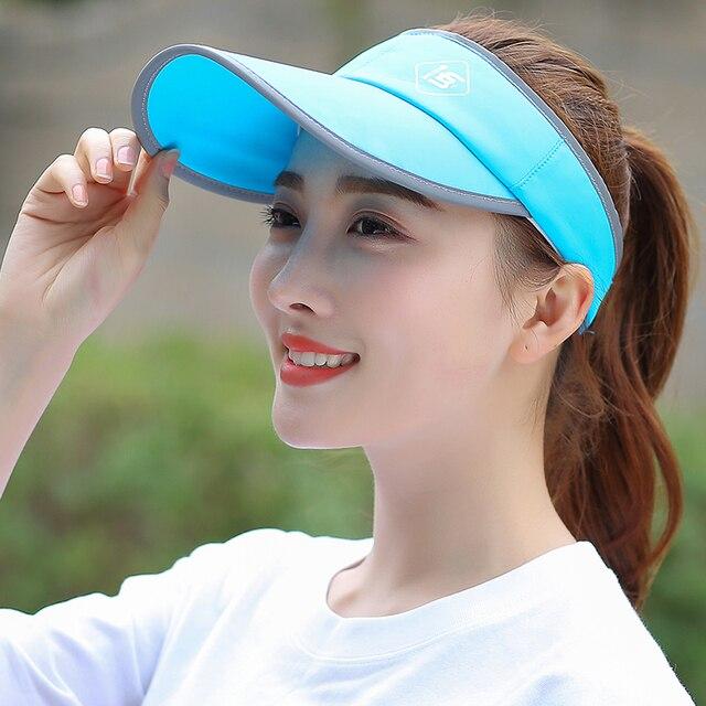 Mujeres Nuevo Diseño de Béisbol Sombrero para el Sol Sombrero  Anti-Ultravioleta Sombrero de Tenis 5fb6bf70579