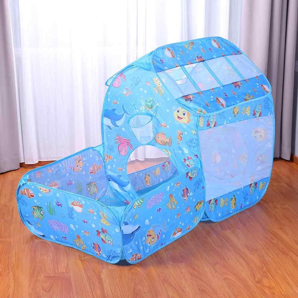 32 Gaya Tenda untuk Anak Jahitan Portabel Lipat Tenda Mainan untuk Anak Terowongan Outdoor Indoor Bermain Tenda Bayi untuk Anak Perempuan anak Laki-laki