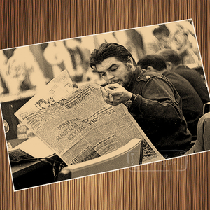 Cuba Socialism Leader Che Guevara Drive Ретро ВИНТАЖНЫЙ ПЛАКАТ из крафт-бумаги, холщовая картина, настенная наклейка, домашний декор, подарок