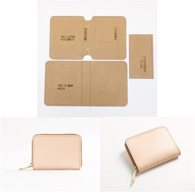1set DIY Leather Handmade Craft women handbag wallet Purse Sewing ...