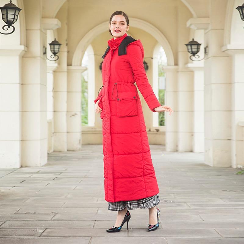 Outwear Sustans Veste Cap Long Femmes Taille Fourrure Manteau Parka D'hiver X Plus Réglable Chaud Dz2012 La wYIqEq6