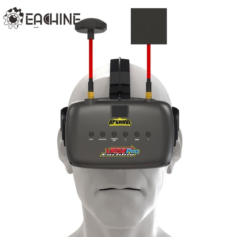 Eachine VR D2 Pro 5 pouces 800*480 40CH 5.8G diversité FPV lunettes avec lentille DVR réglable