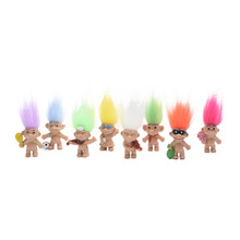 4.5cm 8pcs/Set Mini Figurines & Miniatures Dam Dolls Home Decorati