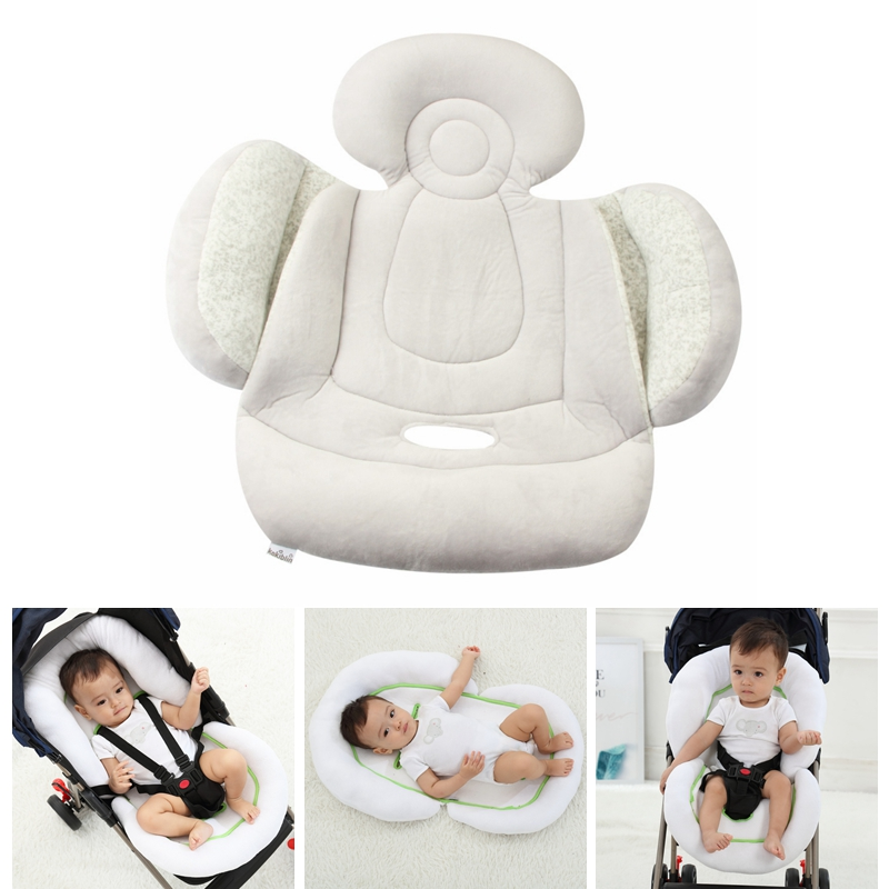 Fashion Stroller Cushion Seat Cover Baby Diaper Pad Safety Baby Car Soft Pushchair Mat Mattress Pram Stroller Accessories