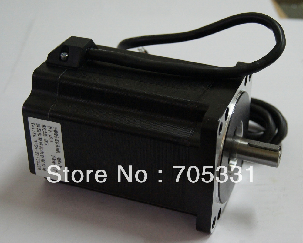 купить 6N.m size 86mm 3phase high torque hybrid stepping motor J3913 motor length 125mm по цене 4401.48 рублей