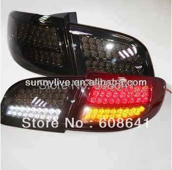 Santa Fe Full Led Tail Light For Hyundai 2007 2017 Year Black Color