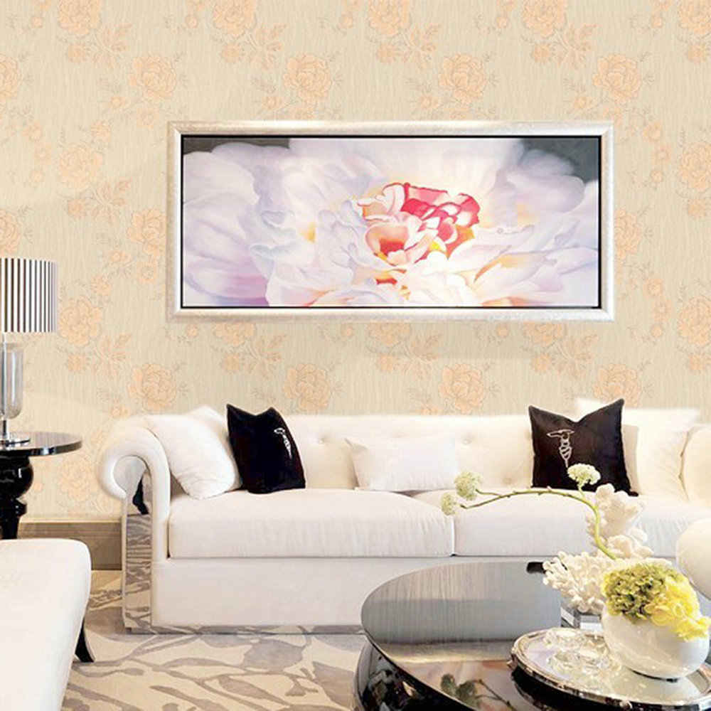 ФОТО Beautiful Papel de parede Floral FF83104 Low Foaming Non-woven Paper 160 g Mural Walls Wallpaper Rolls Non-woven Foam Wallpapers