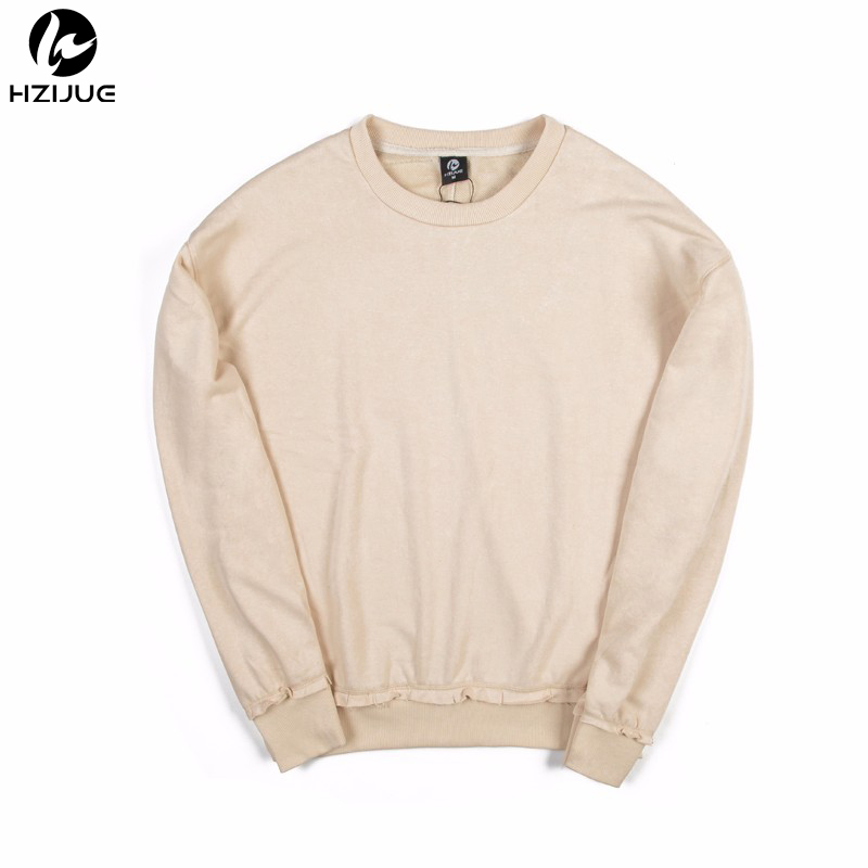HZIJUE 2018 Winter Fashion Pullover BIG Pocket Men Hoodies Leisure Patchwork Colors Sweatshirt Hoodie Sweat Homme Hoodie Size