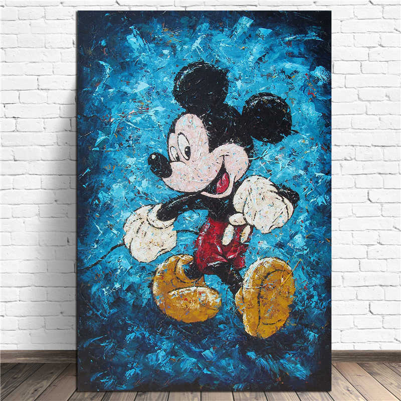 Detail Feedback Questions About Mickey Mouse Strut Hd Wall Art