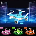 Cheerson cx 10 mini bolso zangão 2.4 ghz 4ch rc drone helicóptero de controle remoto quadcopter cx10 mini drone com led luz