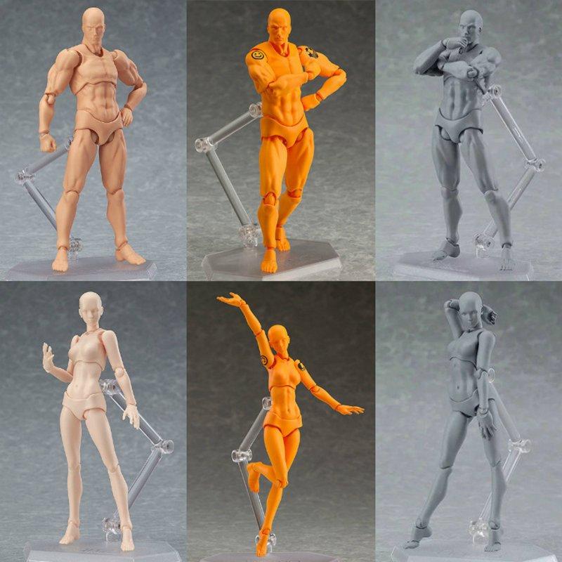 Figuras de Ação e Toy figma shf homem cor da Acessórios para Soldado : Conjunto de Soldado