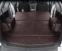 Goede kwaliteit! Speciale kofferbak matten voor Chevrolet Captiva 7 zetels 2018-2006 duurzaam boot tapijten cargo liner voor Captiva 2016