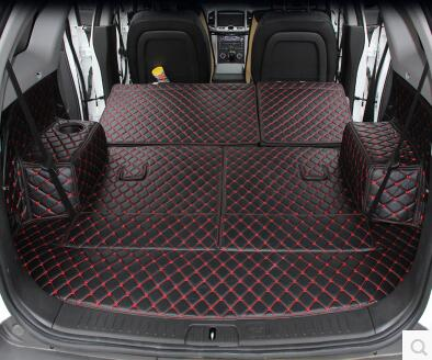 Good quality! Special trunk mats for Chevrolet Captiva 7 seats 2017-2006 boot carpets cargo liner for Captiva 2016,Free shipping