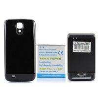 สำหรับSamsung Galaxy S4 SIV i9500โทรศัพท์มือถือ5600มิลลิแอมป์ชั่วโมงReplacemenขยายแบตเตอรี่+ปกหลังตลับ+ USBผนังชาร์