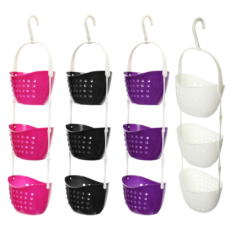 Aliexpress com   Buy 3 Tier Shower Caddy Bath Rack Plastic Hanging Over Basket Tidy Shower Organiser White Black Rose red Purpose from Reliable plastic bath. Aliexpress com   Buy 3 Tier Shower Caddy Bath Rack Plastic Hanging