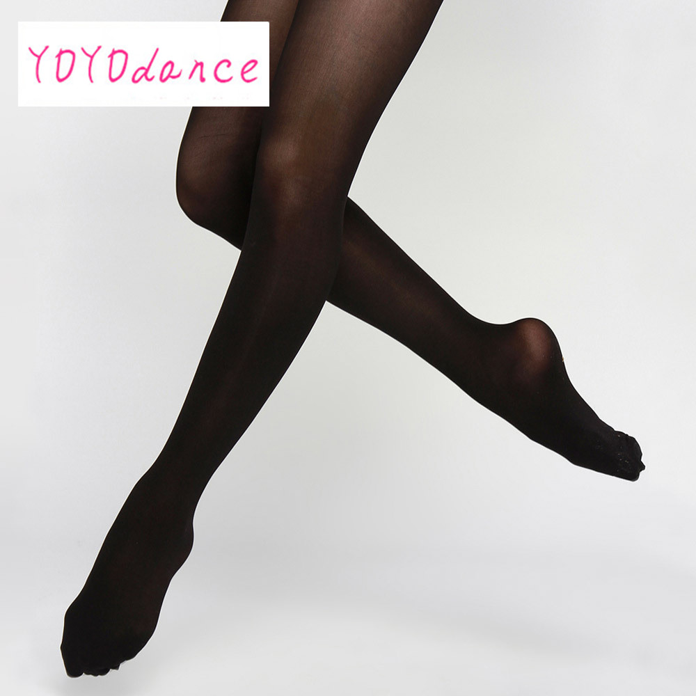 Show details for 1 Pair Retail 7 Colors New 40D Women Lady Opaque Thine Footed Dance Tight Pantyhose Dance Stockings Girls Ballet Dance Tights