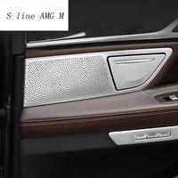 Car Styling Audio Speaker Door Loudspeaker Trim decoration Covers Stickers For BMW 7 Series G11 G12 Interior Auto Accessories