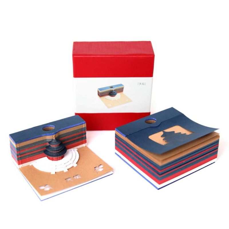DIY Скрапбукинг 3D стикер Sticky Note Creative Papers Card Craft для закладок