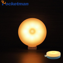New Arrival USB Rechargeable touch Sensor Activated Wall Light Night Light Induction Lamp For Closet Corridor Cabinet