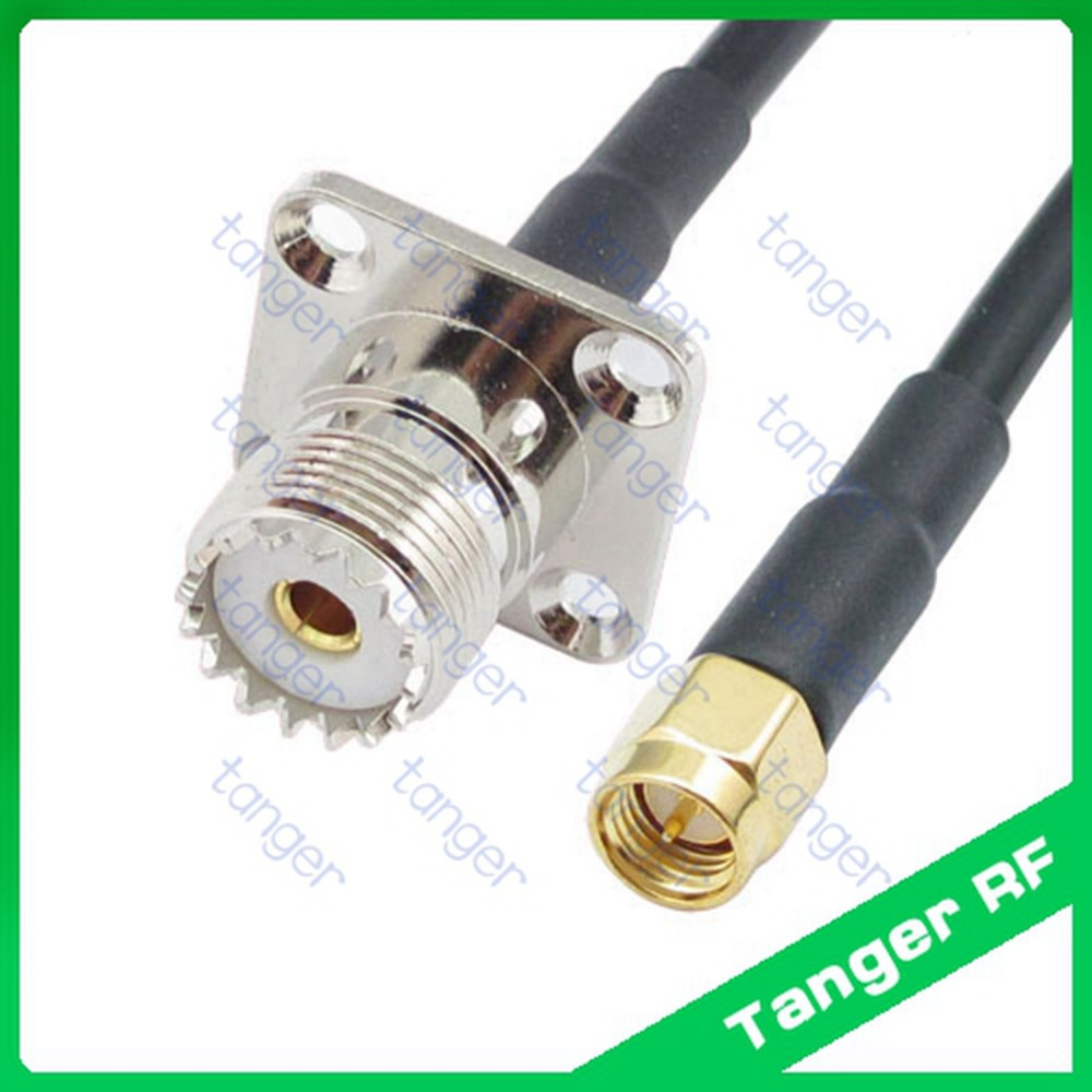 3 feet RG58 TNC Male to N Male Pigtail Jumper RF coaxial Cable 50ohm Quick USA Shipping