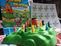New Funny Bunny Rabbit Competitive Game Desktop Playing Game Kids love Toy Board game