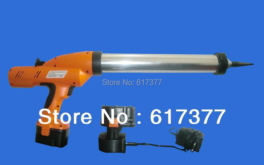 600ml Sausage/Soft Pack Used Electric or Battery Cordless Sausage Caulking Gun600ml Sausage/Soft Pack Used Electric or Battery Cordless Sausage Caulking Gun