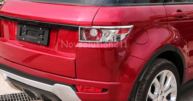 Travel & Roadway Product Roof Racks & Boxes 2pcs /set Real Tail Light Trim Bezel Lamp Cover Trim For Range Rover Evoque 2011 2012 2013 2014 2015 2016