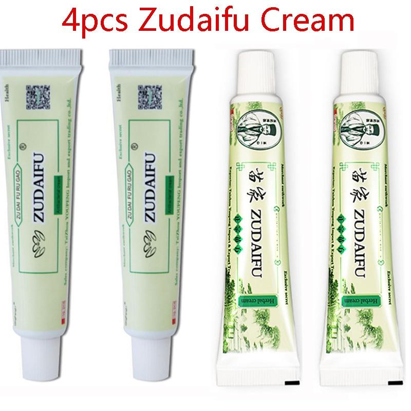 4pcs Original ZUDAIFU Body Psoriasis Cream without Retail Box Skin Problems Cream Drop Shipping Wholesale