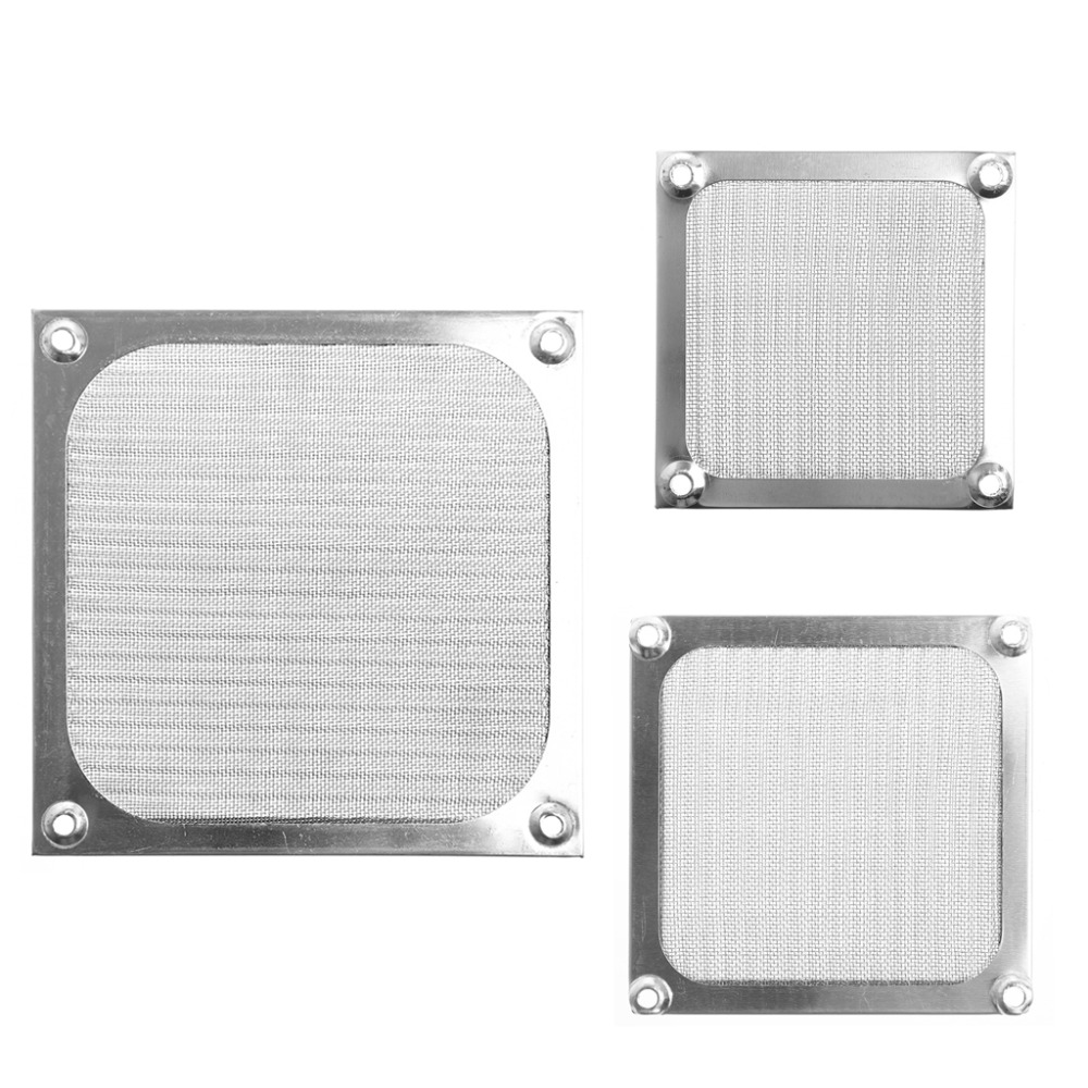 80/90/120 size Metal Dustproof Mesh Dust Filter Net Guard 12cm/9cm/8cm For PC Computer Case Cooling Fan metal computer case fan grill 12cm