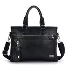 Classic Genuine Leather Men's Handbag Business Bag Cowhide Bolsa Masculina Real Leather Male Briefcase Shoulder Messenger Bag