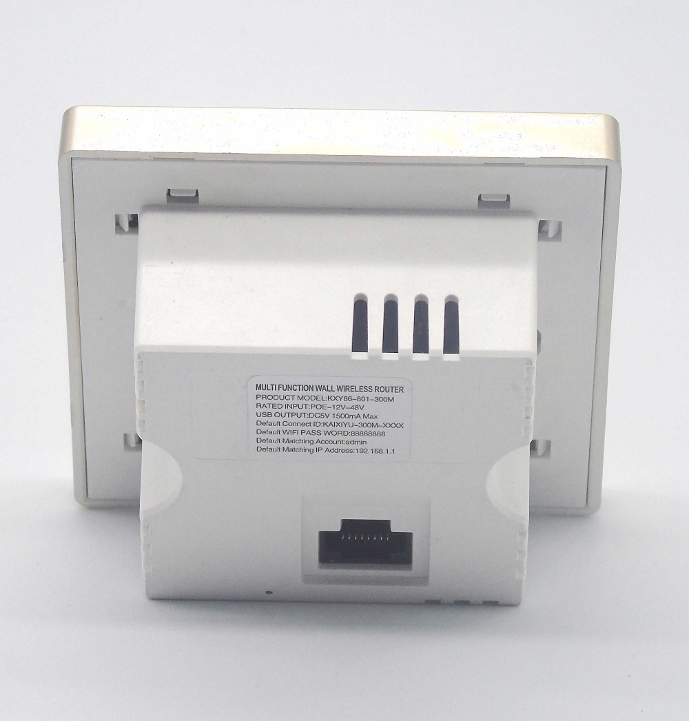 12V 48V poe wireless wall router with ethernet switch connection-in ...