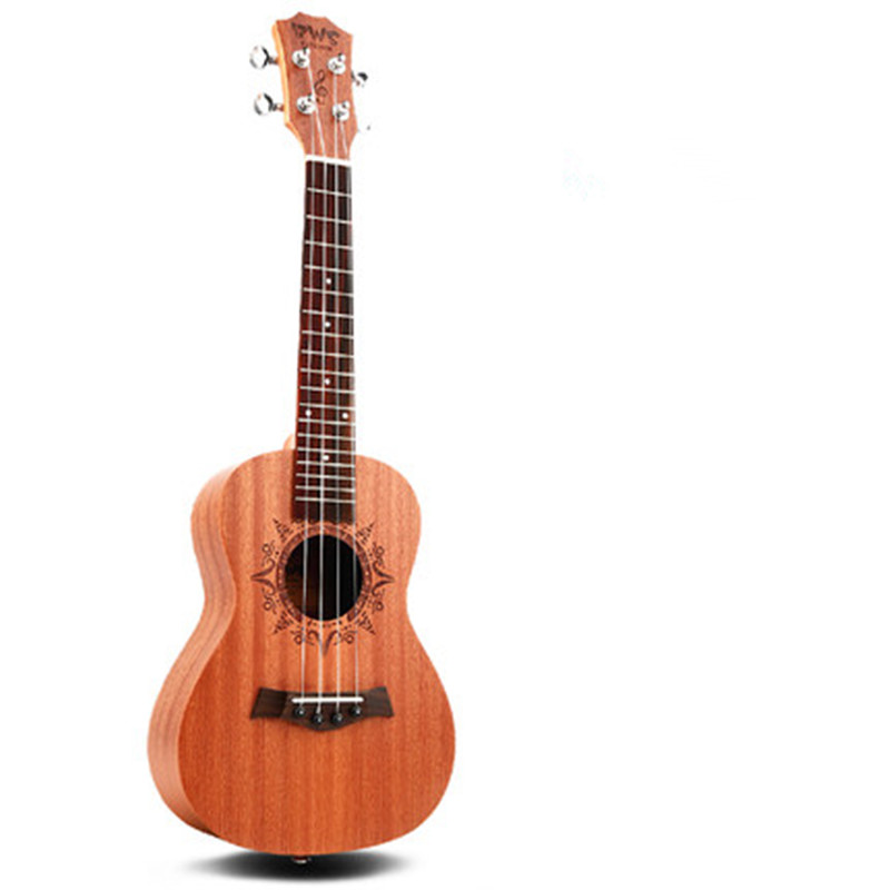 4 strings Rosewood Fingerboard Mahogany Ukulele 18 Frets 23 inch Hawaii Guitar Acoustic Guitar Concert Ukulele yuker 39 inch electric guitar 6 strings 22 frets high quality mahogany body rosewood fingerboard electric guitarra