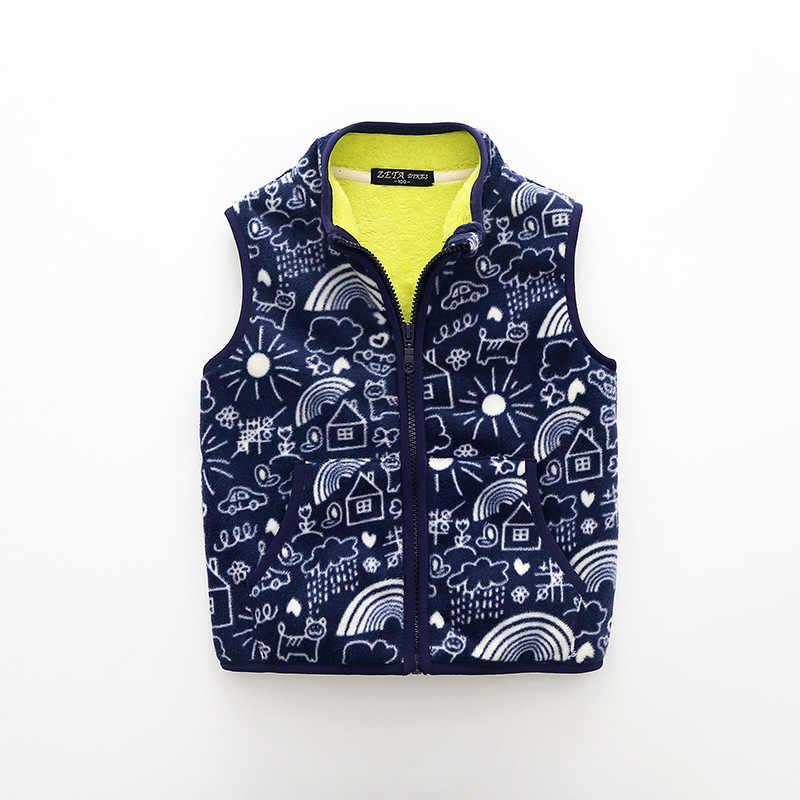 בני חזיית אפוד צמר ילד תינוק אופנה עבור ילדה ילדי אפודי בנות באביב סתיו 2018 ילדי מעיל מעיל אפוד בגדים