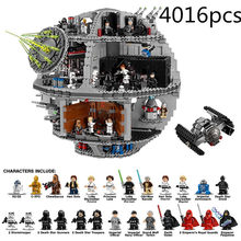 DHL 05063 05035 Star Series Wars UCS Death Star Educational Building Blocks Bricks Toys Compatible LegoINGlys 75159 10188(China)