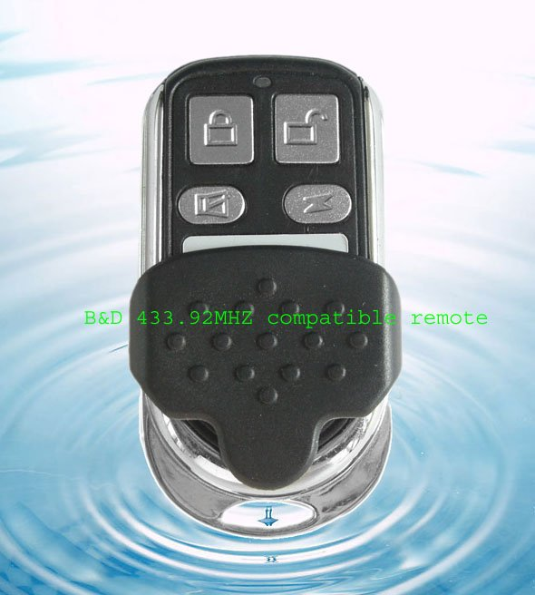 new arrival BND remote , B&D 433.92 mhz replacement remote control ,BND garage door remote control