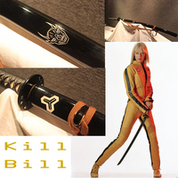 Kill Bill handmade sharp katana samurai japanese swords real katansa swords for sale katanas