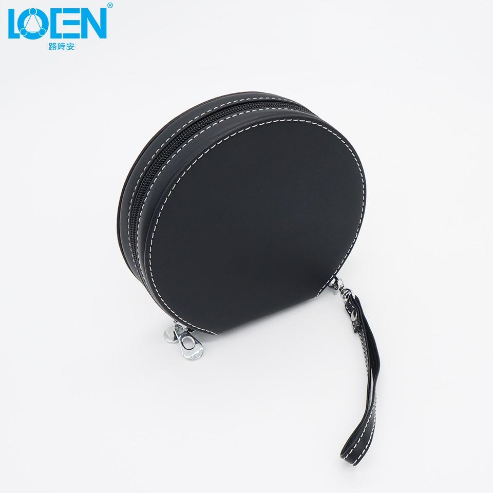 Alta calidad 1 UNID PU cuero impermeable 20 Disco con cremallera CD - Accesorios de interior de coche - foto 3