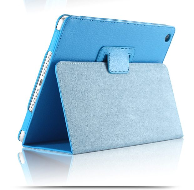 For Apple Ipad Pro 12.9 Magnetic Auto Wake Up Sleep Flip Litchi Leather Case Cover With Smart Stand Holder