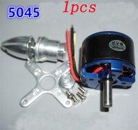 1pcs RC Model Airplane Outrunner Brushless Motor N5045 KV600 12V 7000RPM Large Power Moteur Motors w/ Paddle Clip Bracket Bullet