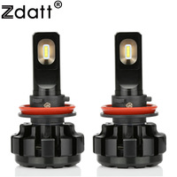2Pcs Super Bright Led Lamp H11 Canbus Headlights 60W 9600Lm Car Led Light 12V Fog Lamp