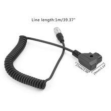 D-Tap к Hirose 4pin Штекер кабель питания звуковые устройства для Zoom F8 Recoeder