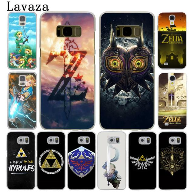 new arrival 8c483 260ac US $1.99 22% OFF Lavaza the Legend Of Zelda Hard Style Phone Shell Case for  Samsung Galaxy S7 S6 Edge S8 S9 S10 Plus S10E Cover-in Half-wrapped Case ...