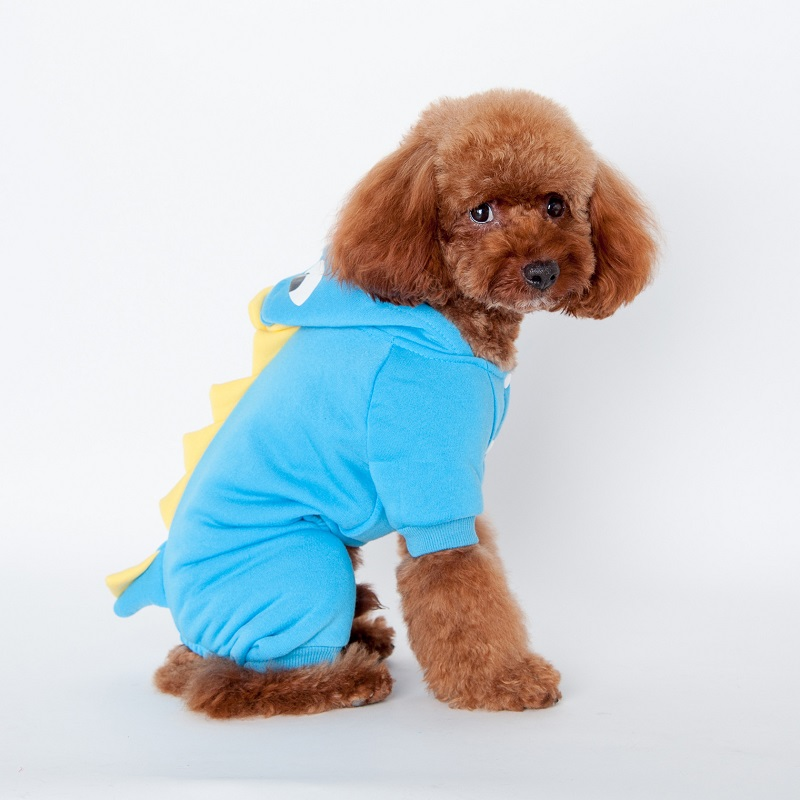 30pcslot dinosaur dog pet jackets halloween costume s m l xl xxl pet dogs coat outfits free shipping wa1208in dog coats u0026 jackets from home u0026 garden on