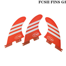 Surf FCS II G3 Fins, fcsII Blue/White/Green/Red New style Fibreglass Honeycomb Fin 2 SUP Board Good Quality FCS2 Fins