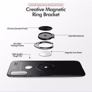 Image 3 - Silikon kılıf Xiaomi Redmi için not 7 durumda zırh parmak yüzük tutucu yumuşak tampon arka kapak Xiaomi Redmi için 7 Pro telefon kılıfları
