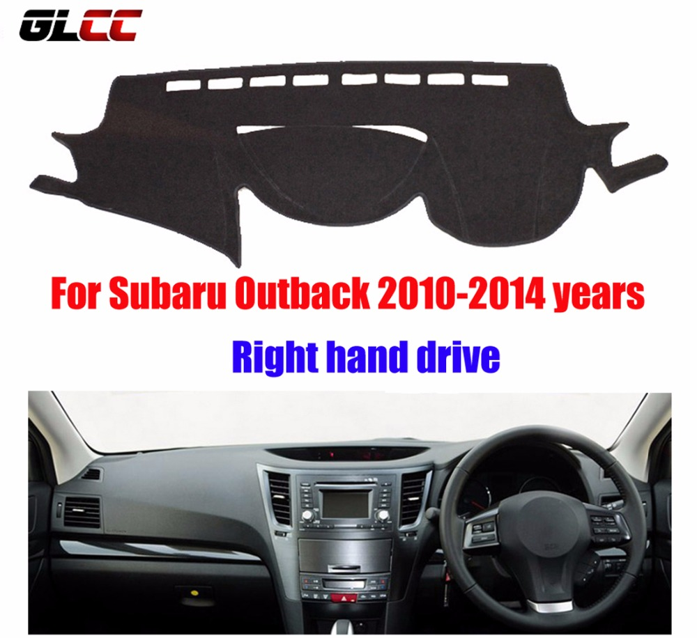 Car Dashboard Covers For Subaru Outback 2010 2014 Years Right Hand Drive Dashmat Pad Dash Cover