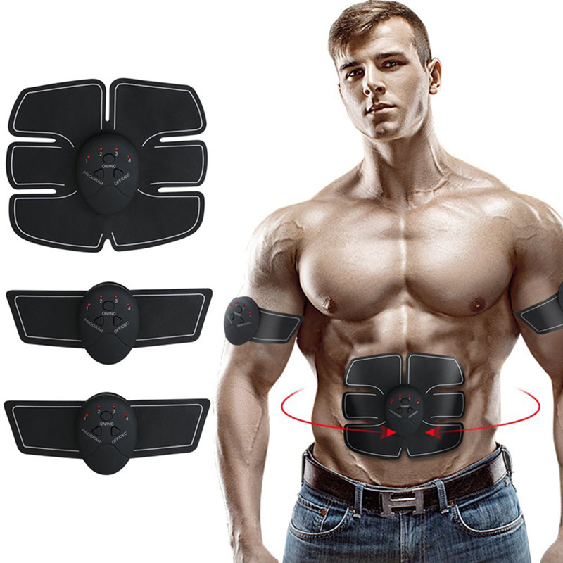 GR EMS Muscle Trainer Abdominal Muscle Training Slimming Fat Burning Exercise Equipment Accessories Workout Exercise Machines
